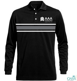 Black Full Sleeve AAA T Shirt