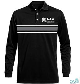 Black Full Sleeve AAA T Shirt