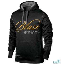 Black Statement Sweatshirt
