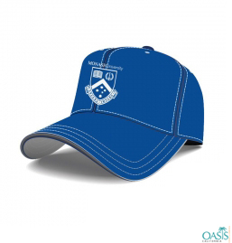 Blue Simple And Casual Cap