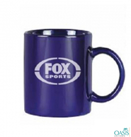Coffee Mug In Royal Blue