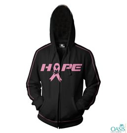Hope Black Sweat Shirts