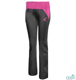 Hot Pink And Black Pants