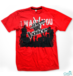 I Want You Red T Shirt