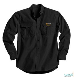 Black Dress Shirts For Men
