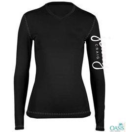 Black T-shirt For Women