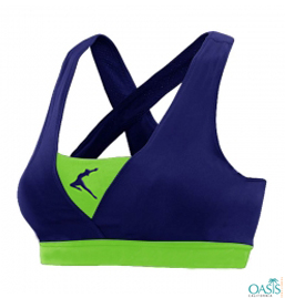 Multicoloured Sports Bra