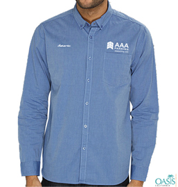 Powder Blue Full Sleeve Shirt