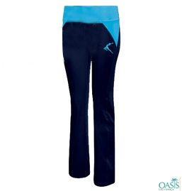 Pants With Interplay Of Blue