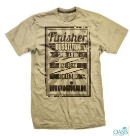 Sand Colored Ironman Tee