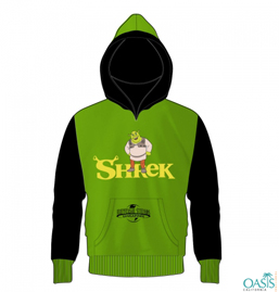 Green Shrek Universal Studio Jacket