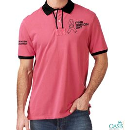 Smart Pink Polo T-Shirts
