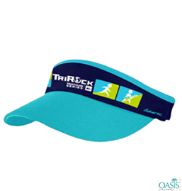 Blue Visor Cap with logo