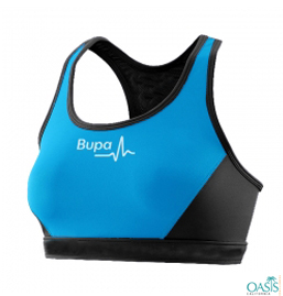 Stylish Blue Sports Bra