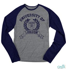 Gray And Blue Jersey