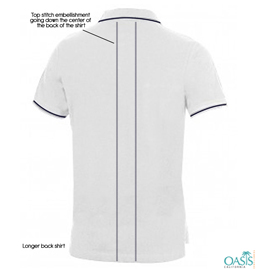 White Half Sleeves T Shirt