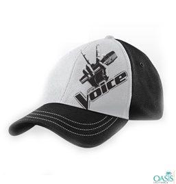Black-White Biggest Loser Voice Cap