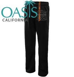 Biggest Loser Black Drawstring Pants (Full)