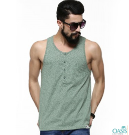 Wholesale Green Vest For Men