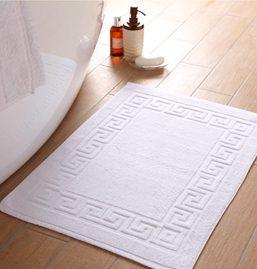 Plain White Bath Mat
