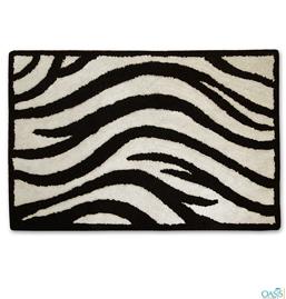 Zebra Print No-Slip Mat