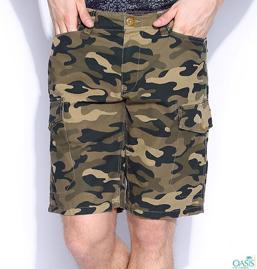 Quirky Khaki Mens Shorts