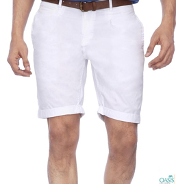 White Shorts For Mens