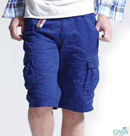 Navy Blue Shorts Mens
