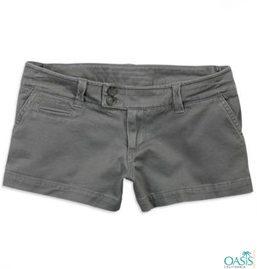 Grey Shorts For Women