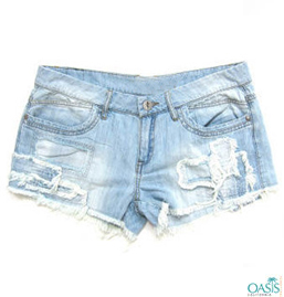 Blue Jean Shorts For Women