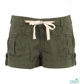 Olive Green Shorts Women