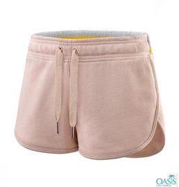 Light Peach Womens Shorts