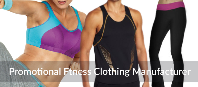 Promotional Fitness Clothing Distributor