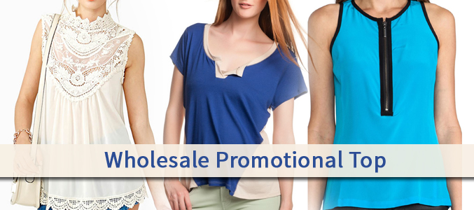 Wholesale Promotional Top Supplier