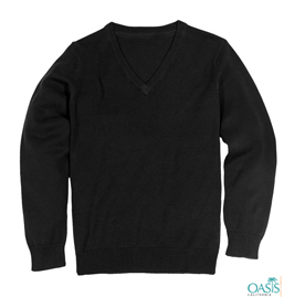 Black Long Sleeve Sweater Manufacturer