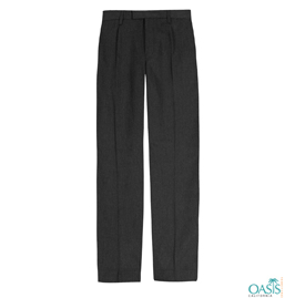 Black School Uniform Trouser Manufacturer
