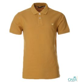Coffee Cream Polo Shirt Manufacturer