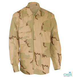 Combat Camouflage Uniform Shirt Supplier USA