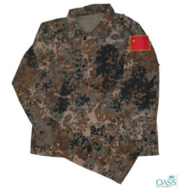 Digital Dark Camo Uniform Shirt Distributor UK