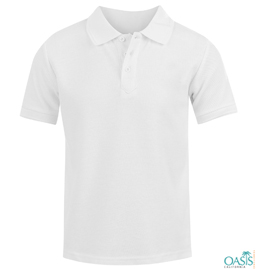 Plain White Polo Shirt Manufacturer