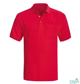 Red Polo Shirts Manufacturer