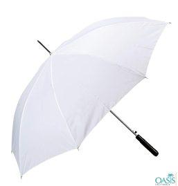 White Promotional Umbrellas Distributor USA