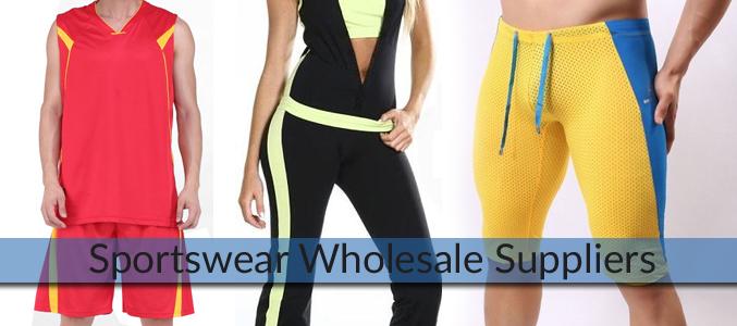 Sportswear Wholesale Suppliers