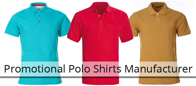 Promotional Polo Shirts Manufacturer