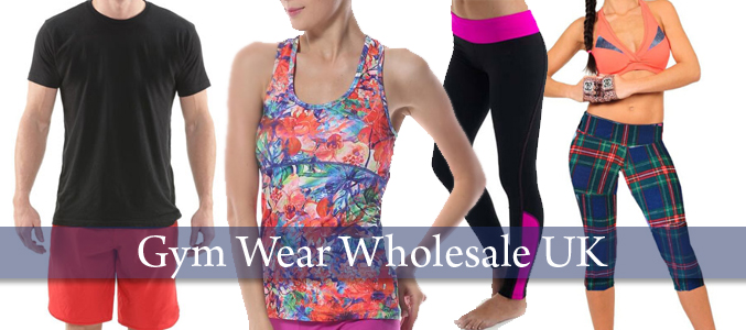 Wholesale Gym Wear Manufacturer UK