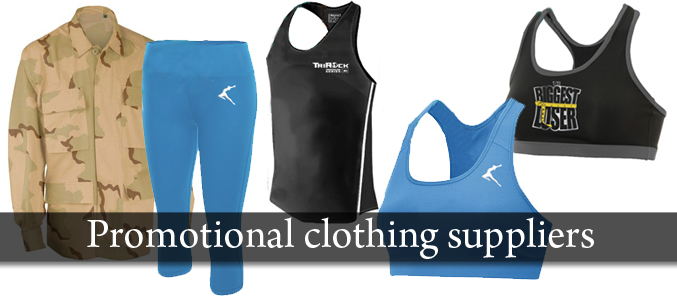Promotional Clothing Wholesale Suppliers